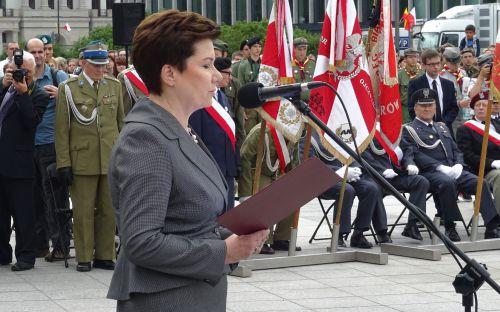 Prezydent m.st. Warszawy Hanna Gronkiewicz-Waltz
