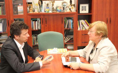 Marek Michalak rozmawia z Teresą Hernik