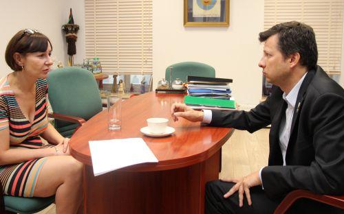 Rzecznik Praw Dziecka rozmawia z Anisą Gnacikowską