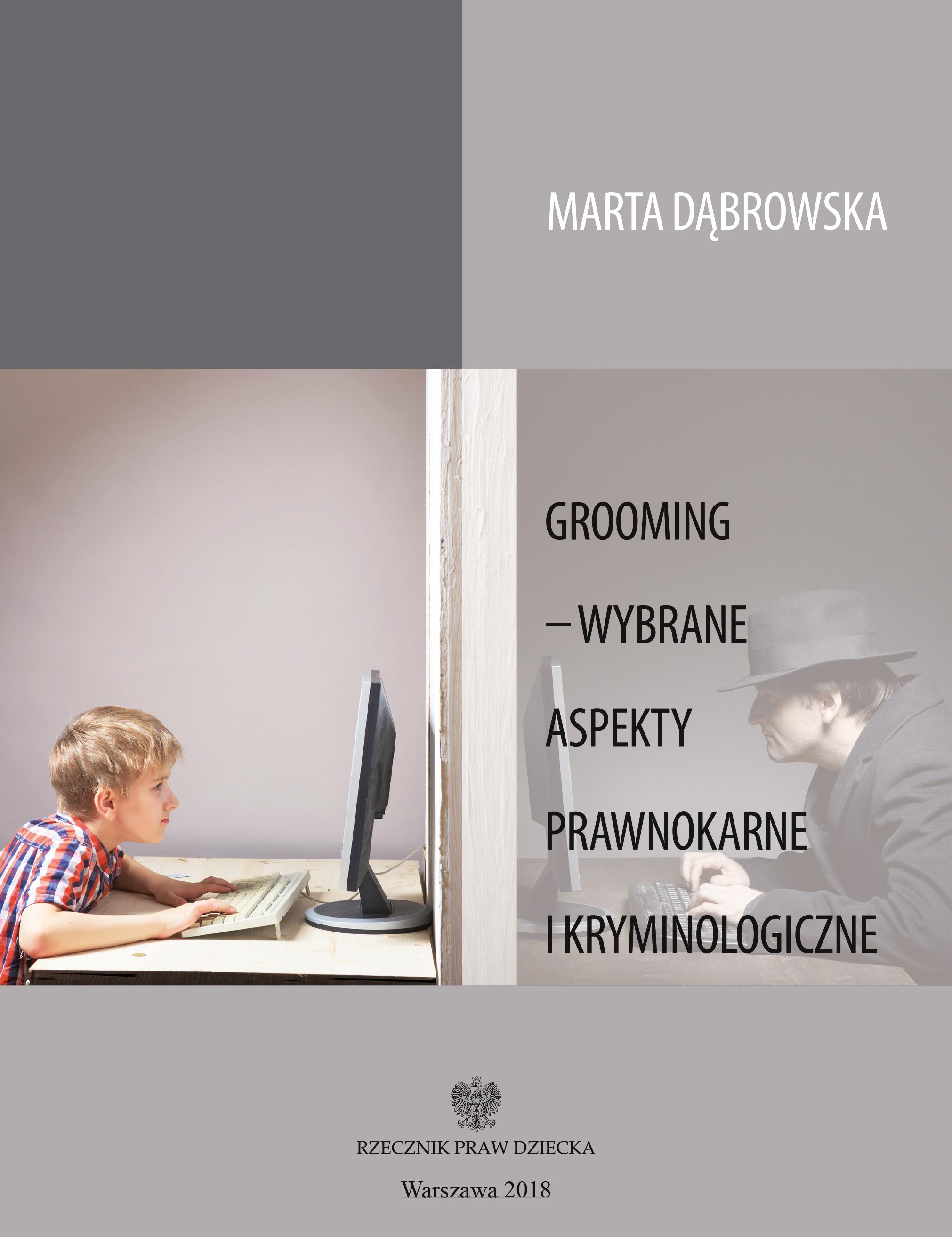okładka książki Grooming – wybrane aspekty prawnokarne i kryminologiczne