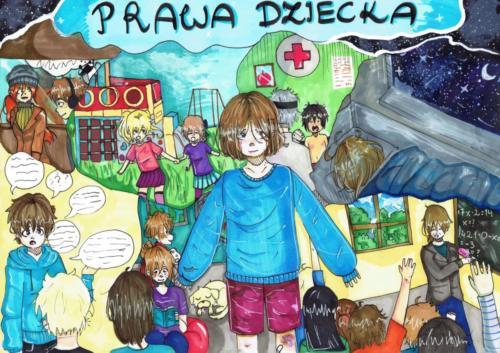 II kategoria, laureatka Zofia Gocłowska, kl. VII Szkoły Podstawowej nr 37 w Szczecinie