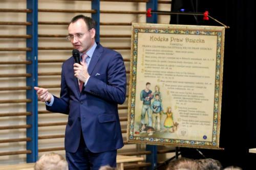 Spotkanie z uczniami Szkoły Podstawowej nr 4 im. księdza Stefana Pieczki w Raciborzu