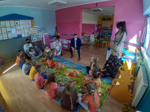 Rzecznik Praw Dziecka odwiedził Przedszkole z Oddziałami Integracyjnymi w Kwidzynie
