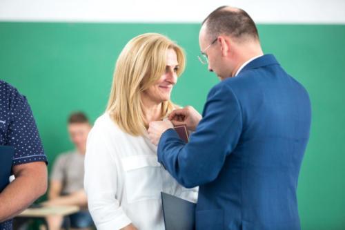 Odznaki honorowe za odwagę i troskę o uczniów